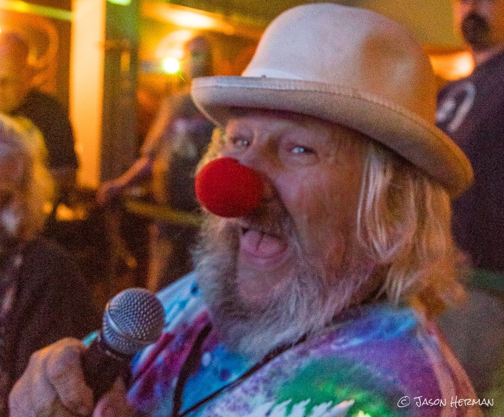 The Birthday Boy himself, Wavy Gravy, takes in the festivities