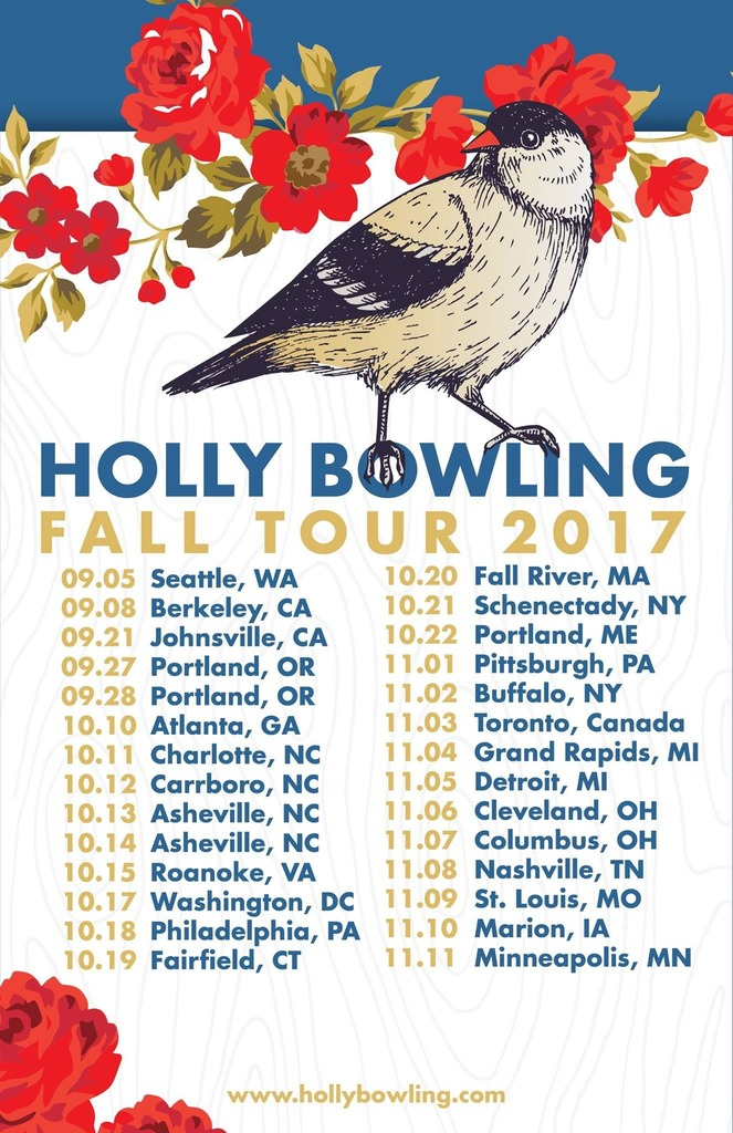 Holly Bowling's 2017 Fall Tour